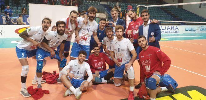 Elios Messaggerie Catania vince al tiebreak il match contro Tuscania